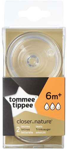 Tommee Tippee pótcumi BPA-Free gyors folyású 2db
