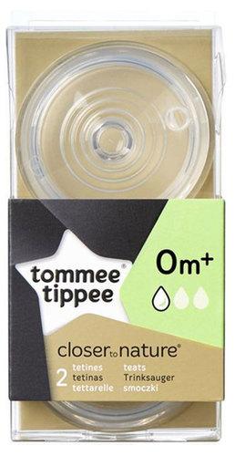 Tommee Tippee pótcumi BPA-Free lassú folyású 2db