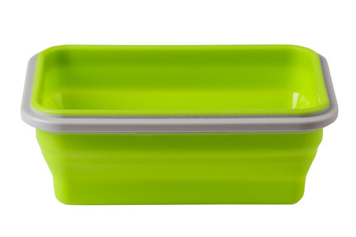 Babyono Tálka fedeles szilikon 500ml #1324 #zöld