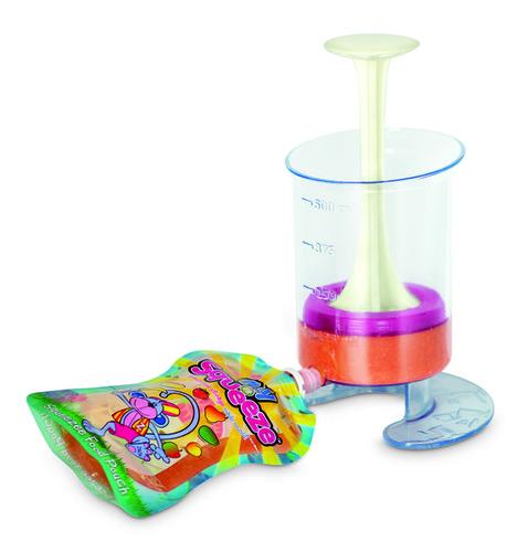 Fill and Squeeze otthoni babaétel készítő 5 db steril zacskóval