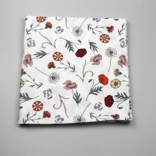 Kukukk Kifogó ökotextil #140x140 #vadvirág Ivy