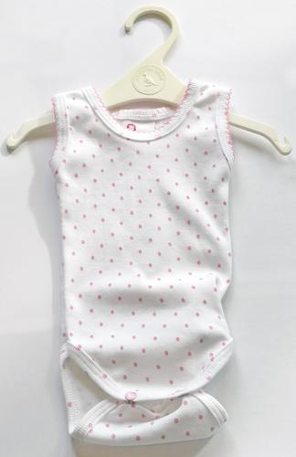 Leopoldi Body trikó #56 #rózsaszín pöttyös #100772