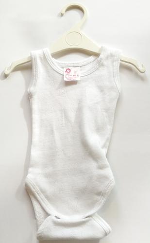 Leopoldi Body trikó #80 #maci lyukacsos fehér #103490
