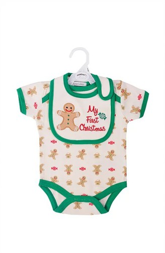 Mothers Choice Body előkével pamut 0-3 #IT9154-895315