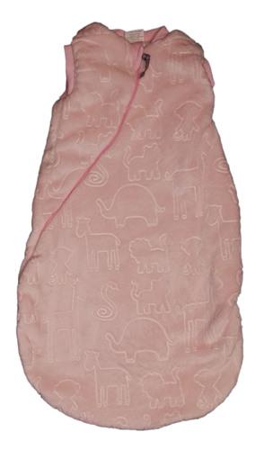 Wikids Hálózsák wellsoft bélelt #62-68-as méret #rózsaszín állatos