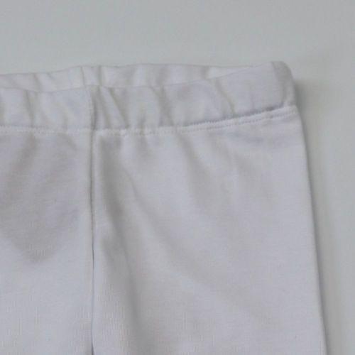 Kukukk Leggings pamut #74 fehér basic Tulip