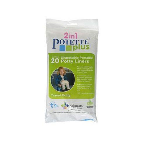 Potette Plus Biológiailag lebomló eldobható zacskók a Potette Plus hordozható bilihez - 20db