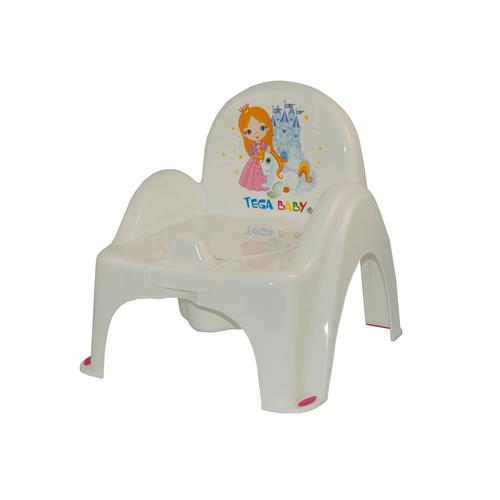 Tega bili trónszék #zenélő Little Princess fehér