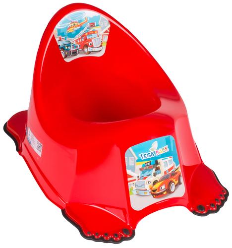 Tega csúszásgátlós Bili #Cars piros