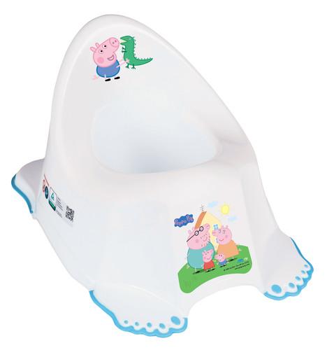 Tega csúszásgátlós Bili #Peppa Pig fehér-kék