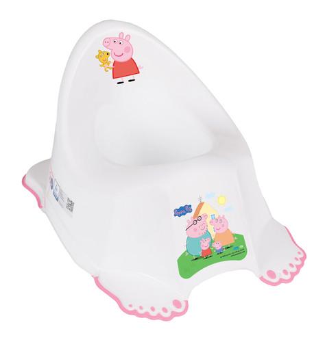 Tega csúszásgátlós Bili #Peppa Pig fehér-rózsaszín