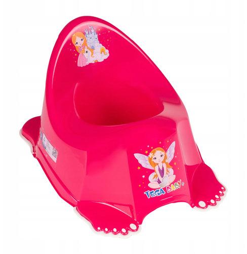 Tega zenélő csúszásgátlós Bili #Little Princess rózsaszín