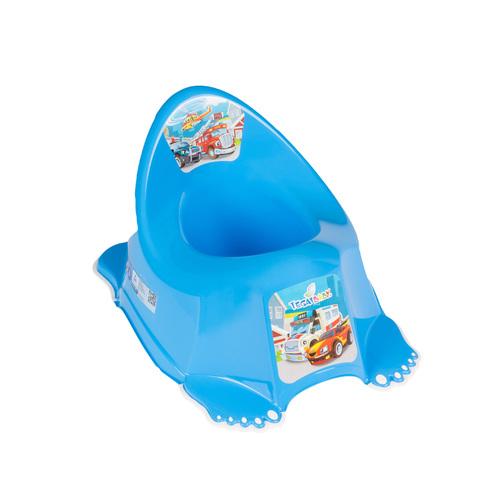 Tega zenélő csúszásgátlós Bili #Cars kék