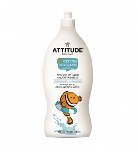 Attitude Mosogatószer vegyszermentes 700ml #53179