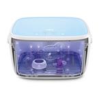 59S T5BAT UVC LED sterilizáló doboz akkumulátorral kék