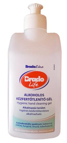 Bradolife Kézfertőtlenítős gél 300 ml