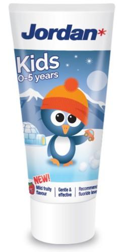 Jordan Fogkrém málna ízű 0-5 év 50ml pingvin #57000015