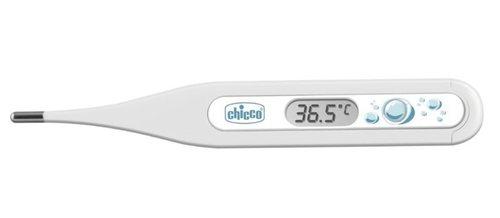 Chicco DigiBaby digitális Lázmérő #vízcseppek fehér-türkiz #CH0090590-116294