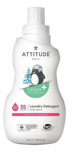 Attitude Folyékony mosószer hipoallergén - illatmentes 1.05L #05149