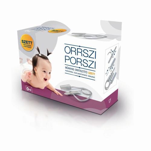 Orrszi Porszi orrszívó műanyag szett