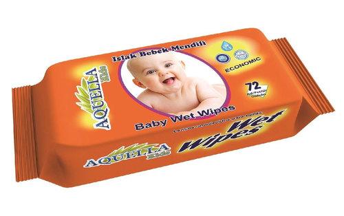 Aquella Kids Baby Economic nedves törlőkendő #72 db