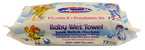 Aquella Kids Baby Vitamin nedves törlőkendő 72db