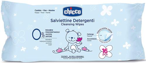 Chicco Natural Sensation Törlőkendő 16db #CH0091632