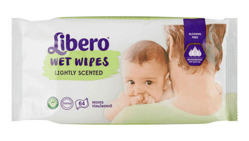 Libero Nedves törlőkendő Lightly Scented #64db