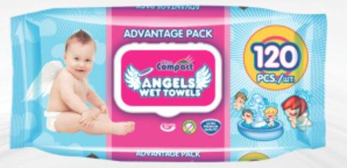 Ultra Compact Nedves törlőkendő Angels #120db