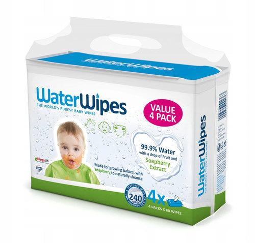 WaterWipes Nedves törlőkendő #Soapberry #4x60db