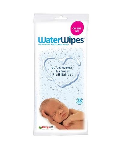 WaterWipes Nedves törlőkendő #28db - KÖZELI LEJÁRATÚ TERMÉK