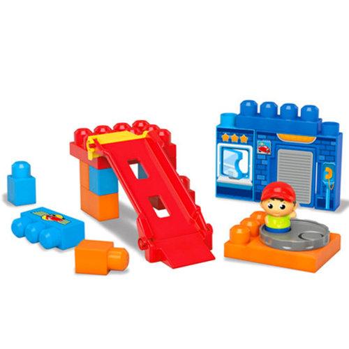 Megabloks Építőjáték pörgő-forgó garázs #DKX85