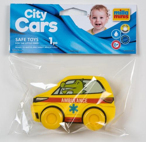 My First City Car - Ambulance sárga zacskóban