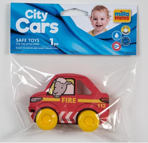 My First City Car - Fire piros zacskóban