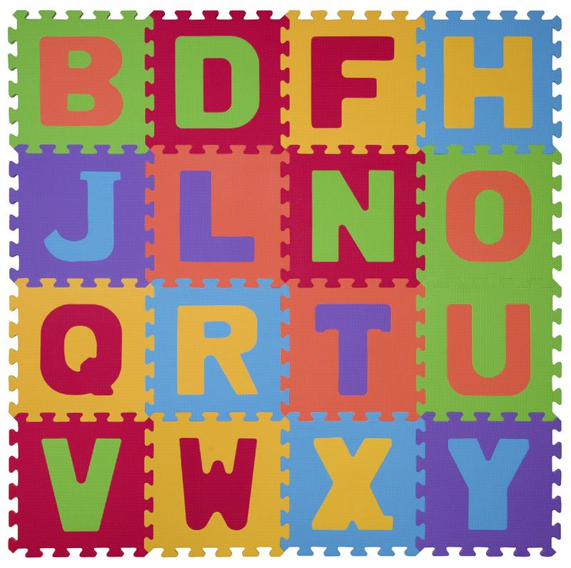 Babyono szivacspuzzle szőnyeg 6db számos bababolt