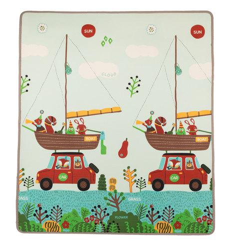 Zopa játszószőnyeg Play szivacs #150x180 #utazás-állatok