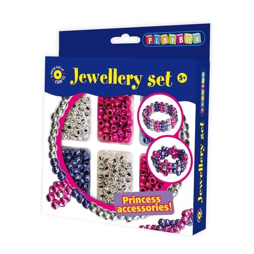 Playbox Kreativ szett fémes gyöngyök #2471273