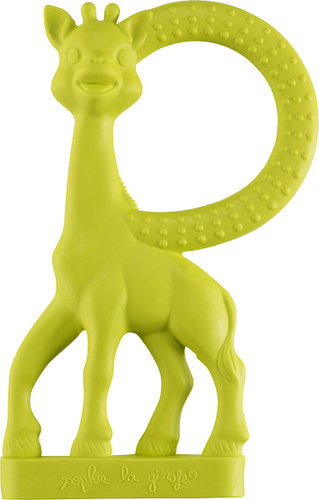 SOPHIE Rágóka zsiráf vaníliás #zöld #010313