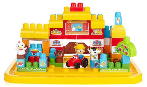 Csak Klubtagoknak! Megabloks Óriás farm építő készlet #6626