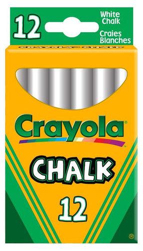 Crayola fehér táblakréta 12 darab #280