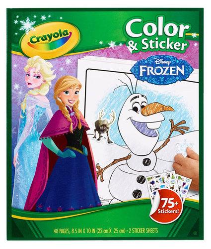 Crayola Jégvarázs kifestő matricákkal #04-5842