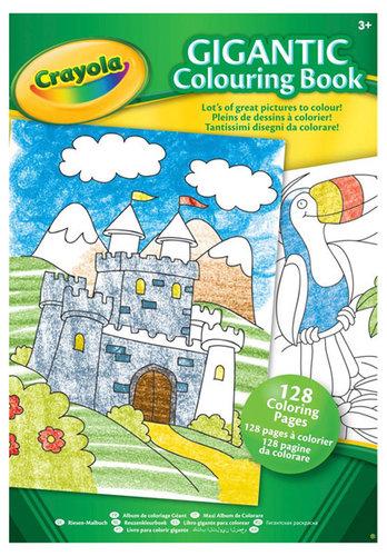 Könyv - Crayola Maxi kifestőalbum, 128 oldalas #04-1407