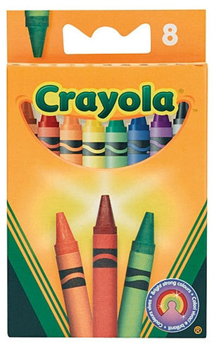 Crayola Standard Viaszkréta- 8 darabos #8