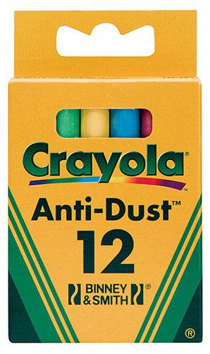 Crayola Színes Táblakréta- 12 darabos #281