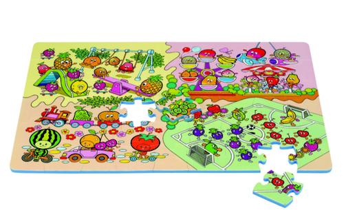 Babyrider Szivacs puzzle 54db #Gyümölcs #PN-210p