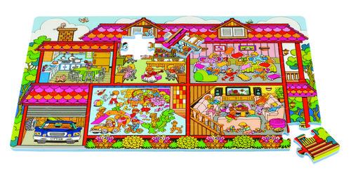 Babyrider Szivacs puzzle 54db #Ház #PN-230p
