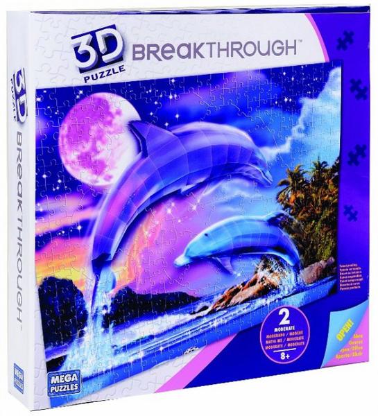 Image of 3D Puzzle delfinek 2#50667EAG-4