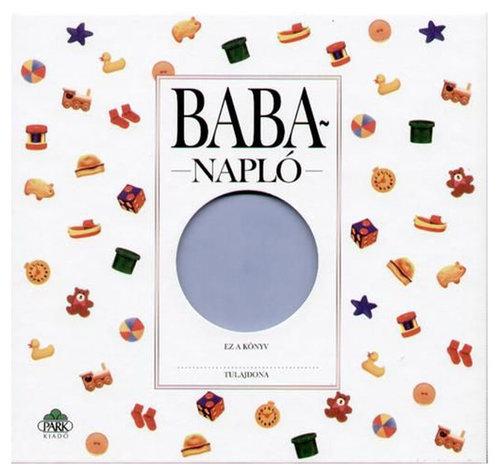 Könyv - Babanapló kék közepes