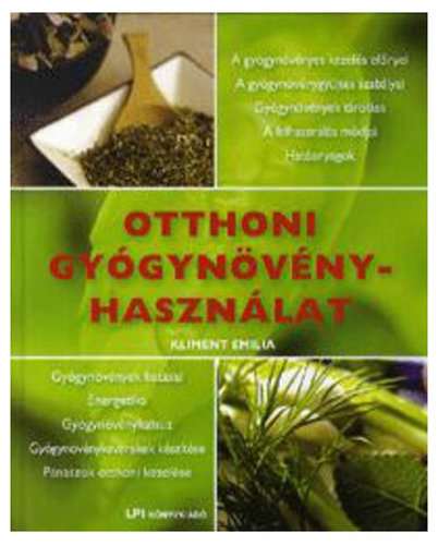 Könyv - Otthoni gyógynövényhasználat