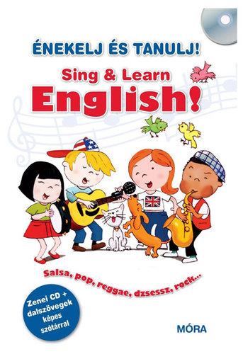 Könyv - Énekelj és tanulj angolul!